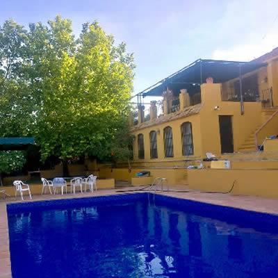 piscina casa rural sevilla