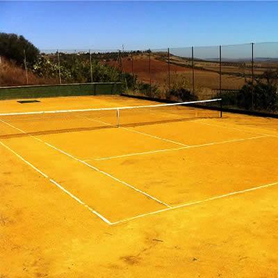 pista de tenis casa rural en Sevilla